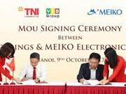 Le groupe japonais Meiko lance son 3e projet au Vietnam