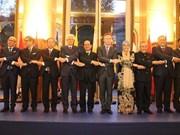 Célébration du 50e anniversaire de l'ASEAN à Paris