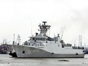 Deux corvettes de la Marine indonésienne en visite à HCM-Ville