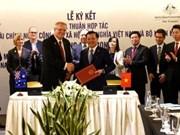 Le Vietnam et l'Australie signent un protocole d'accord sur la coopération financière