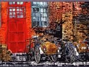 """Exposition """"le Vietnam en miniature"""" de la peintre japonaise Toba Mika"""