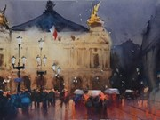 Exposition internationale d'aquarelles