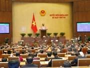 Ouverture de la 4e session de la 14e législature de l'Assemblée nationale