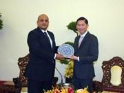 Ho Chi Minh-Ville et l'Egypte intensifient la coopération dans le contrôle administratif