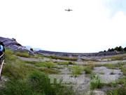 Décontamination de l'aéroport de A Luoi par les technologies micro-organiques