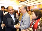 Le Premier ministre Nguyen Xuan Phuc à la fête de grande union nationale à Hanoï