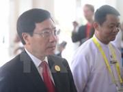 Activités du vice-Premier ministre Pham Binh Minh au Myanmar