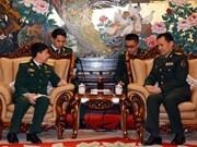 Echange des jeunes officiers Vietnam-Chine en 2017