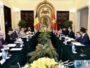 Consultation politique Vietnam-Belgique