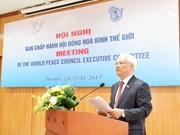 Hanoi accueille une réunion du Conseil mondial de la paix