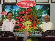 Le président du FPV formule ses vœux de Noël aux catholiques à An Giang