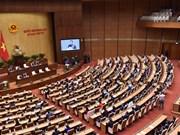 Clôture de la 4e session de l'Assemblée nationale de la 14e législature
