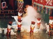 L'art des marionnettes sur l'eau du Vietnam séduisent les Français