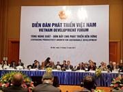 Ouverture du Forum du développement du Vietnam à Hanoi