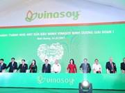 Vinasoy inaugure sa 3e usine au Vietnam