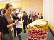 Environ 350 tonnes de cerises d'Australie seront exportées au Vietnam en 2017