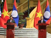 Clôture de l'Année de solidarité et d'amitié Vietnam - Laos, Laos - Vietnam 2017