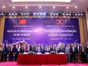 Forum de promotion des échanges commerciaux Vietnam-Laos 2017