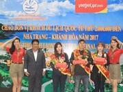 Khanh Hoa accueille son 2 millionième visiteur étranger en 2017