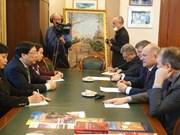 Le diplomate vietnamien rencontre des dirigeants du KPRF de Russie