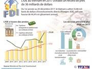 L'IDE au Vietnam en 2017 a établi un record de près de 36 milliards de dollars