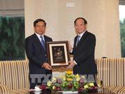 Ho Chi Minh-Ville loue l'amitié avec les localités laotiennes