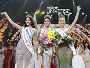 Une jeune fille de l'ethnie Ede sacrée Miss Univers Vietnam 2017