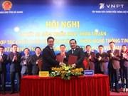 Hà Giang coopère avec le groupe VNPT pour construire une ville intelligente
