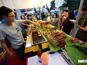 Ouverture du festival culinaire Taste of the World à Ho Chi Minh-Ville