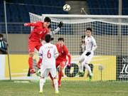 Championnat d'Asie U23 : le Vietnam a bien résisté face à la R. de Corée