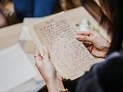 Une exposition rassemble des lettres manuscrites du siècle dernier