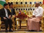 Le Premier ministre laotien en visite au Myanmar