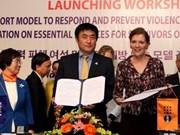 Lancement d'un projet de prévention de la violence contre les femmes et les filles