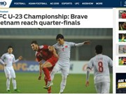 Football : la presse salue la performance de l'U23 Vietnam
