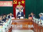 Le Premier ministre Nguyen Xuan Phuc à Binh Dinh et Phu Yen