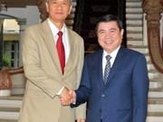 Ho Chi Minh-Ville intensifie sa coopération avec des localités laotiennes
