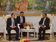 Une délégation de Hô Chi Minh-Ville au Cambodge