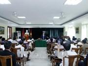Conférence-bilan de l'Association générale des Vietnamiens au Laos 2017