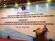 Nutrition : lancement du mouvement SUN au Vietnam