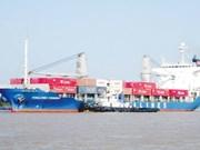 Les navires maritimes assurent 100% du transport par container