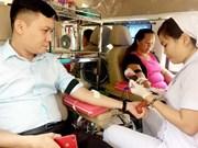 Collecte de sang pour le Têt du Chien