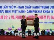 Bilan des activités de l'Association d'amitié Vietnam-Cambodge