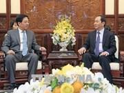 Le chef de l'Etat reçoit l'ambassadeur chinois Hong Xiaoyong