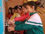 Samsung Electronics Vietnam contribue à l'amélioration de l'hygiène en milieu scolaire