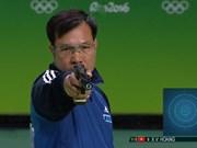 Tir : Hoang Xuan Vinh à la 2e place mondiale au pistolet à 10m