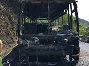 Aucun mort dans un accident d'autocar sur le col de Hai Van