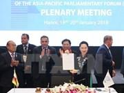 Nouvelle mesure de la diplomatie parlementaire