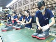 Bond des exportations de chaussures et sandales en janvier