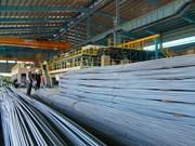 Janvier: bond des importations indiennes de produits sidérurgiques du Vietnam