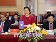 Nghe An accueille une délégation de l'Assemblée nationale laotienne